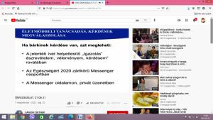Képernyőfelvétel, Egészségklub, 2021.05.31. (9)