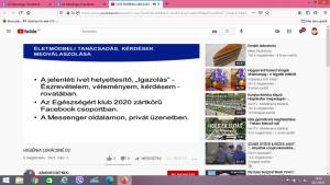 Képernyőfelvétel, Egészségklub, 2021.03.01. (9)