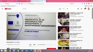 Képernyőfelvétel, Egészségklub, 2021.05.31. (2)